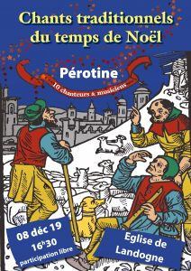 "Concert du groupe ""Pérotine"" @ Landogne"