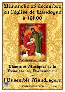 "Concert de ""Ensemble Mandragore"" @ Landogne"