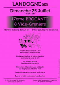 17ème Brocante & Vide-greniers